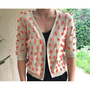 Sparrow Anthropology Cardigan Size Large